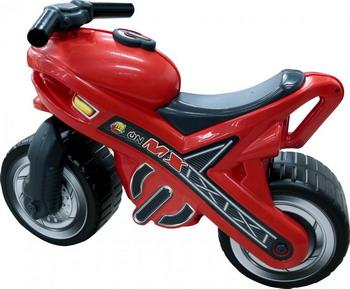 Каталка Полесье Мотоцикл МХ maisto мотоцикл инерционный slickers цвет красный