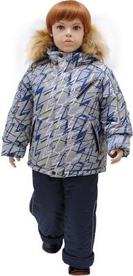 Комплект одежды Русланд принт Зигзаг Рт.98 Серый комплект одежды русланд принт зигзаг рт 110 красный