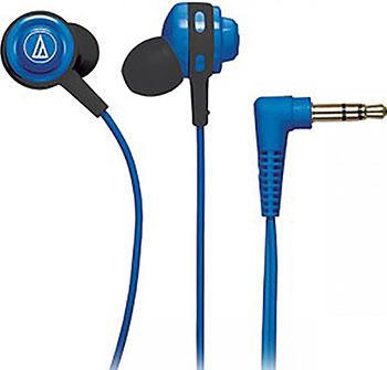 Вставные наушники Audio-Technica ATH-COR 150 BL вставные наушники philips she 3855 bl 00 chromz