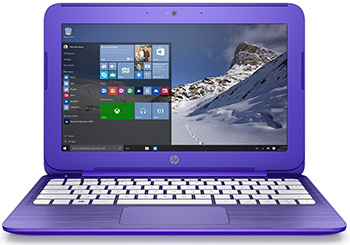 Ноутбук HP Stream 14-ax 016 ur (2EQ 33 EA) Violet Purple цена и фото