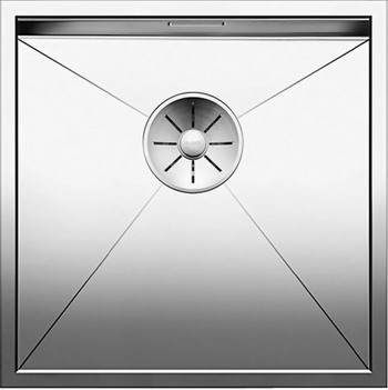Кухонная мойка Blanco ZEROX 400-IF нерж. сталь зеркальная полировка 521584 franke kbx 110 34 нерж сталь зеркальная