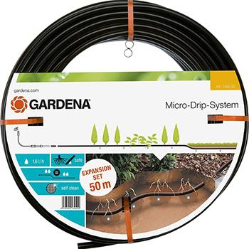Фото - Шланг сочащийся Gardena для подземной прокладки 50 м 01395-20 кабель gardena дополнительный 10 м 01186 20