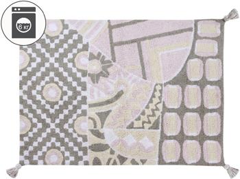 Ковер Lorena Canals Индийский Indian Bag (серый-розовый) 120*160 C-BAG-GP