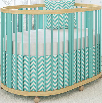 Детская кроватка Shapito TreeO Mint GB 5520-M