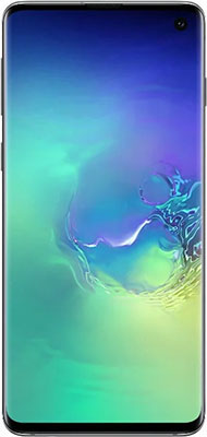 Смартфон Samsung Galaxy S10 128GB SM-G973F аквамарин смартфон samsung galaxy s10e 128gb аквамарин