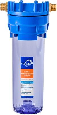 Сменный модуль для систем фильтрации воды Гейзер 10 SL 3/4'' прозрачный (50534) предфильтр eco filter ecofilter для хол воды 3 4 прозрачный 0686