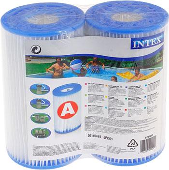 Картридж Intex ''А'' (Блок из 2 шт.) для фильтр-насосов