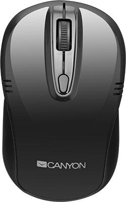 Беспроводная компьютерная мышь Canyon CNE-CMSW 02 B Черный