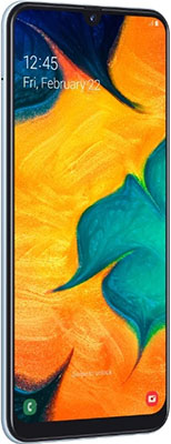 Смартфон Samsung Galaxy A30 SM-A305F 64Gb белый смартфон samsung galaxy a30 sm a305f 64gb белый