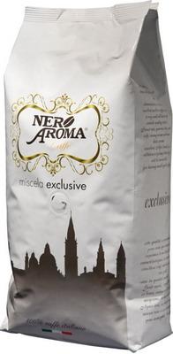 Кофе зерновой Nero Aroma Exclusive 1000 г кофе зерновой amado бразильский сантос 0 5 кг
