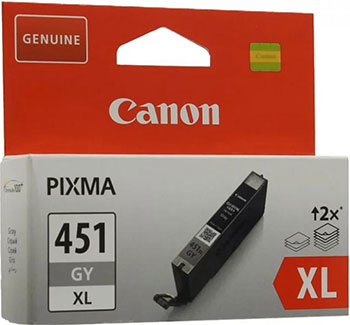 Фото - Картридж Canon CLI-451 GY XL 6476 B 001 Серый утюг braun si 3054 gy