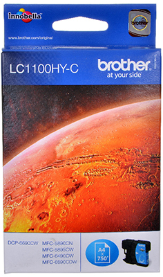 Фото - Картридж Brother LC 1100 HYC голубой lee cooper часы lee cooper lc 38g e коллекция leeds