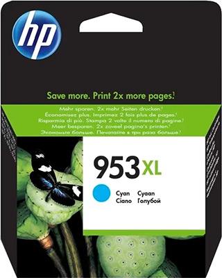 Картридж HP F6U 16 AE №953 XL Голубой радиостанция albrecht ae 5090 xl