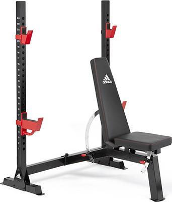 Скамья олимпийская тренировочная Adidas Deluxe ADBE-10248 олимпийская скамья для жима matrix g3 fw14b