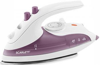 цена Утюг Scarlett SC-SI30T03 фиолетовый онлайн в 2017 году