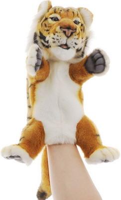 где купить Мягкая игрушка Hansa Creation Тигр игрушка на руку 4039 по лучшей цене