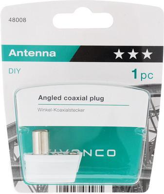 Штекер антенный Vivanco 48008 vivanco коаксиальный