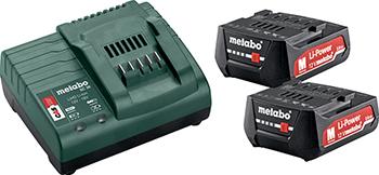 Комплект аккумулятор и зарядное устройство Metabo Basic-Set 12V 685300000