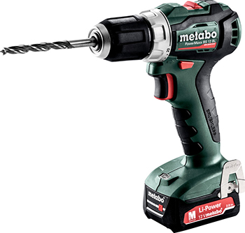 Дрель-шуруповерт Metabo PowerMaxx BS 12 BL (601038500) metabo powermaxx bs 12 bl 601038500