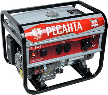 Электрический генератор и электростанция Ресанта БГ 9500 Р
