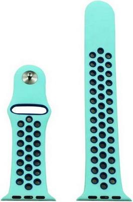Ремешок для часов Eva для Apple Watch 42mm Голубой/Синий (AWA012BB) цена и фото