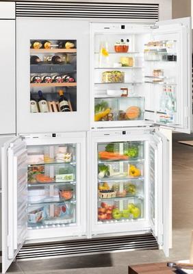 Встраиваемый холодильник Side by Side Liebherr SBSWgw 64I5 (EWTgw 1683-20 + IKP 1660-60 + IGN 1664-20 + SIBP 1650-20) вермикомпост биуд 20 л