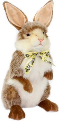Мягкая игрушка Hansa Creation 7480 Кролик коричневый 37 см блокнот кролик а5 коричневый