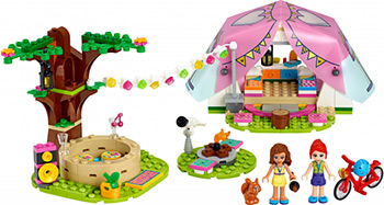 Конструктор Lego Friends Роскошный отдых на природе 41392 lego friends ластик 4 шт 51608