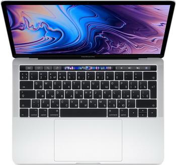 Ноутбук Apple MacBook Pro 13 with Retina display and Touch Bar Mid 2019 (MV992RU/A) серебристый ноутбук apple macbook pro 15 with retina display late 2016 touch bar touch id 2 7ghz 512gb space grey mlh42