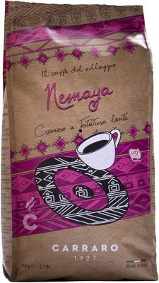 Кофе зерновой Carraro NEMAYA 1 кг кофе зерновой amado бразильский сантос 0 5 кг