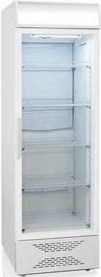 Холодильная витрина Бирюса Б-520PN белый фронт недорого
