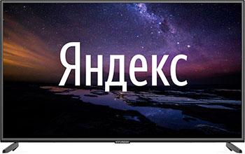 Фото - 4K (UHD) телевизор Hyundai 55'' H-LED55EU1311 Smart Яндекс черный телевизор hyundai h led43eu1312 яндекс 43 ultra hd 4k