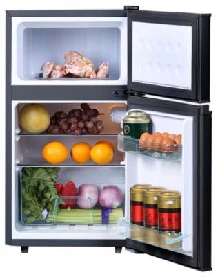 все цены на Двухкамерный холодильник TESLER RCT-100 Wood онлайн