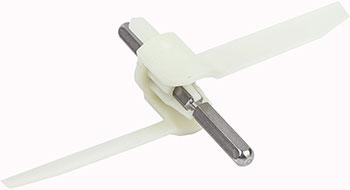 Ось-лопасть универсальной резки Bosch для MUM5.. (00630760)