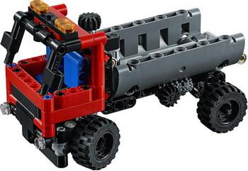 Конструктор Lego Technic: Погрузчик 42084 banbao пластиковый конструктор вилочный погрузчик 128 деталей
