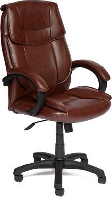 все цены на Кресло Tetchair OREON (кож/зам коричневый/коричневый перфорированный 2 TONE/2 TONE /06) онлайн