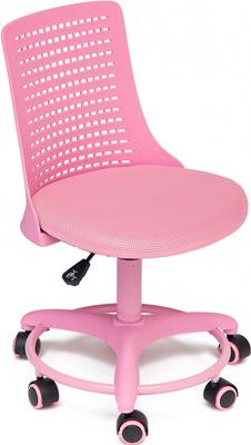 Кресло Tetchair Kiddy ткань (сетка) пластик розовый