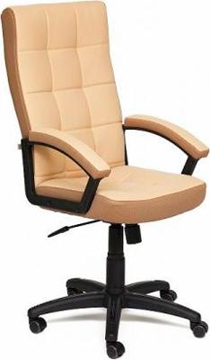 Кресло Tetchair TRENDY (кож/зам/ткань бежевый/бронзозый 36-34/21) кресло tetchair runner кож зам ткань черный жёлтый 36 6 tw27 tw 12