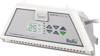 Блок управления Ballu Transformer Electronic BCT/EVU-E конвектор ballu модуль отопительный bec evu 2000 блок управления bct evu m белый