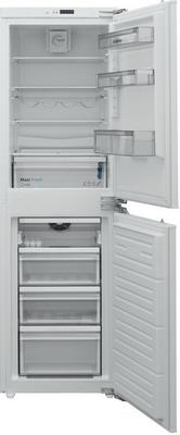 лучшая цена Встраиваемый двухкамерный холодильник Scandilux CFFBI 249 E