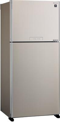 Фото - Двухкамерный холодильник Sharp SJ-XG 55 PMBE двухкамерный холодильник hitachi r vg 472 pu3 gbw