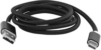 Фото - Кабель Red Line USB-Type-C 3.0 нейлоновая оплетка черный кабель red line spiral usb type c черный