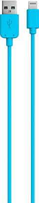 Фото - Кабель Red Line USB-8-pin для Apple синий кабель red line usb 8 pin для apple 1 5a 20 см белый