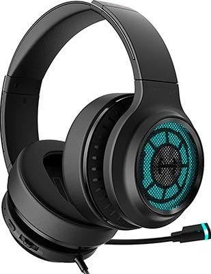 Фото - Гарнитура игровая проводная Edifier G7 черный 3м мониторные USB оголовье микрофон проводной thomson m152 3м black