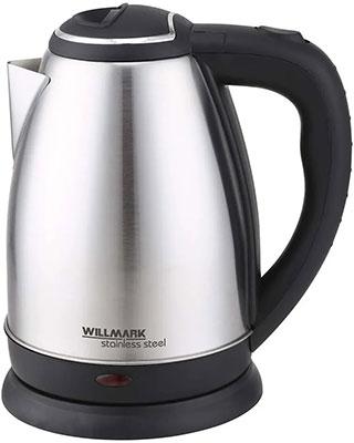 Фото - Чайник электрический WILLMARK WEK-1808SS (матовый) чайник электрический willmark wek 1808ss белый