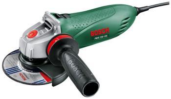 Угловая шлифовальная машина (болгарка) Bosch PWS 750-125 (06033 A 2422) болгарка bosch pws 850 125