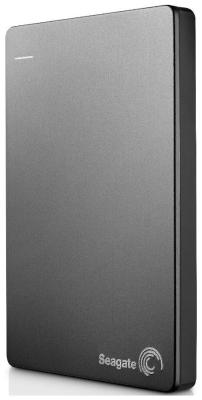 Внешний жесткий диск (HDD) Seagate USB 3.0 1Tb STDR 1000201 BackUp Plus Portable Drive 2.5 серый netac k308 500gb usb 3 0 2 5 external hard drive hdd dark blue