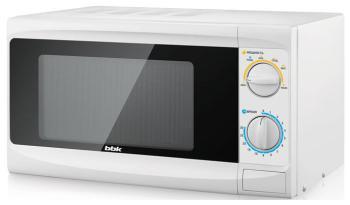 Микроволновая печь - СВЧ BBK 20 MWS-703 M/W белый supra микроволновая печь mws 2103ms 700 вт 21л