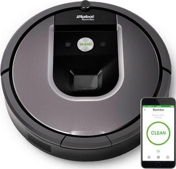 Робот-пылесос iRobot Roomba 960 серый пылесос irobot