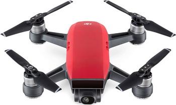 Квадрокоптер DJI Spark Combo Lava Red квадрокоптер dji spark fly more combo с камерой белый